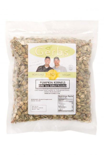 Salt Lovers Roasted Pumpkin Seed Kernels - Shelled Pepitas Bag