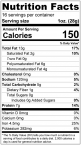 Chipotle Seasoned Dry Roasted Pumpkin Seed Kernels - Shelled Pepitas Nutrition Facts
