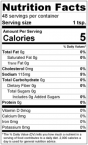Key West Jump-Jivin' Seasoning Mix Nutrition Facts