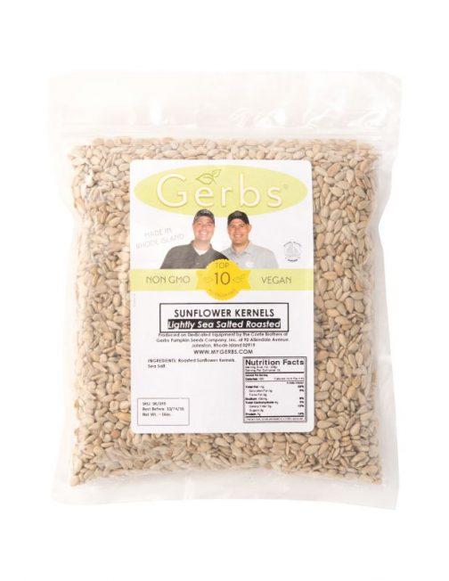 Lightly Sea Salted Sunflower Seed Kernels - Dry Roasted Bag