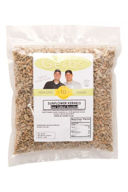 Sea Salted Sunflower Seed Kernels - Dry Roasted Bag