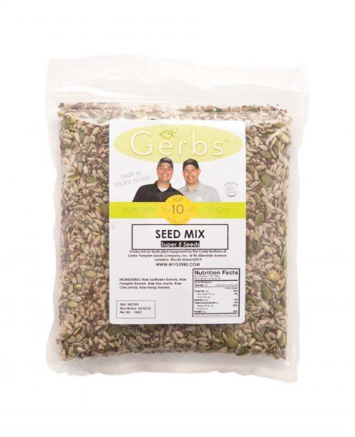 Pumpkin - Sunflower - Chia - Flax - Hemp Seed   Raw Mix Bag