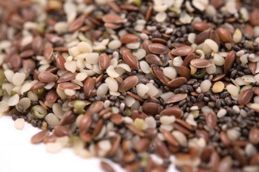 Hemp Seed Raw Mix