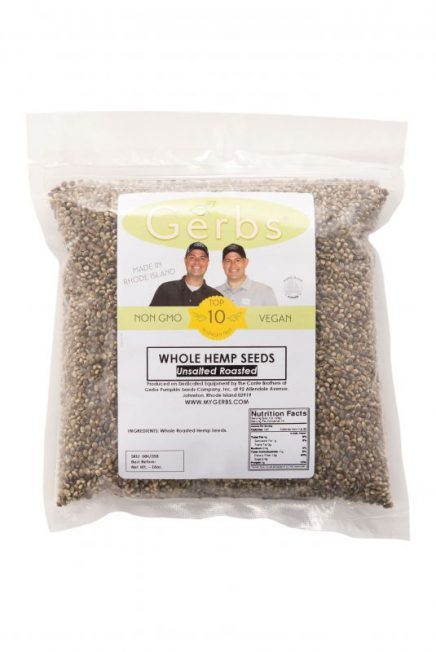 Unsalted Roasted Hemp Seeds - In Shell Bag