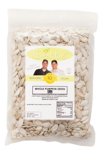 Raw In Shell Pumpkin Seeds - Whole Pepitas Bag
