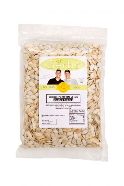 Unsalted Dry Roasted In Shell Pumpkin Seeds - Whole Pepitas Bag