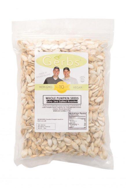 Salt Lovers Dry Roasted In Shell Pumpkin Seeds - Whole Pepitas Bag