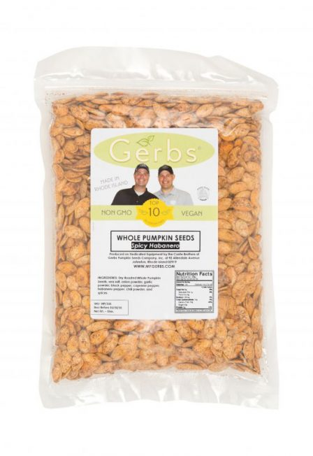 Spicy Habanero Dry Roasted In Shell Pumpkin Seeds - Whole Pepitas Bag