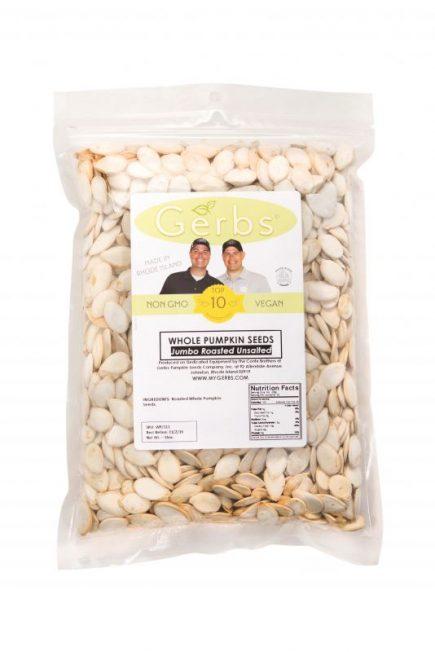 Jumbo Unsalted Dry Roasted In Shell Pumpkin Seeds – Whole Pepitas Bag