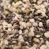 Chia & Hemp Seed Raw Mix Close up