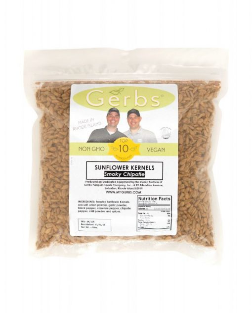Chipotle Seasoned Sunflower Seed Kernels - Dry Roasted Bag