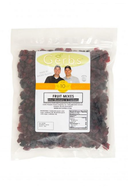 Dried Blueberry & Cranberry Fruit Mix Bag