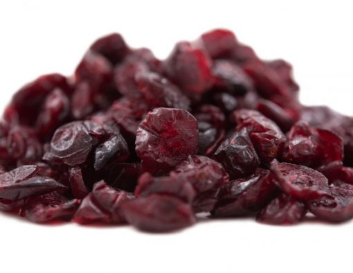 Dried Cape Cod Cranberries Close up