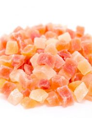 Dried Chopped Papaya Cubes