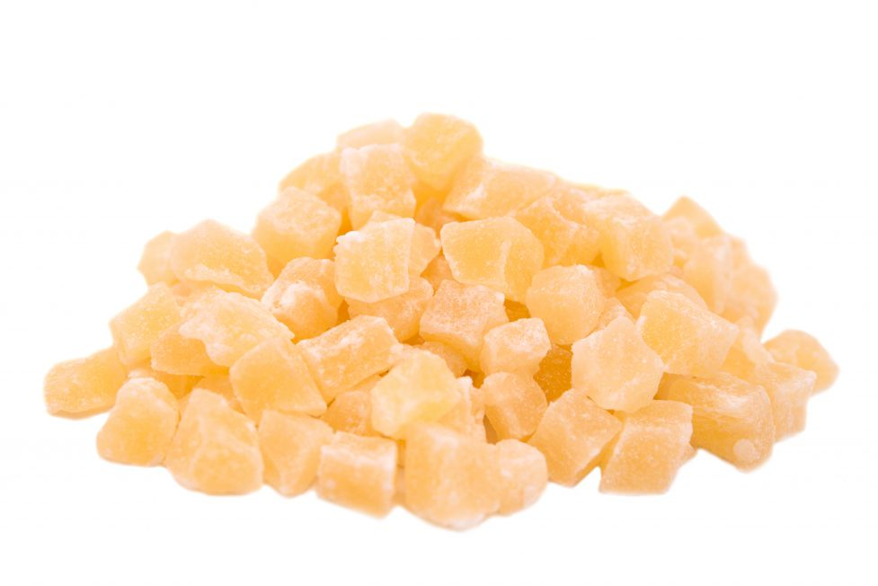 Dried Chopped Pineapple Cubes