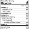 Ginger Powder back Nutrition Facts
