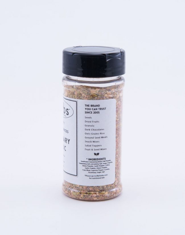 Rosemary & Garlic Seasoning Mix ingredients