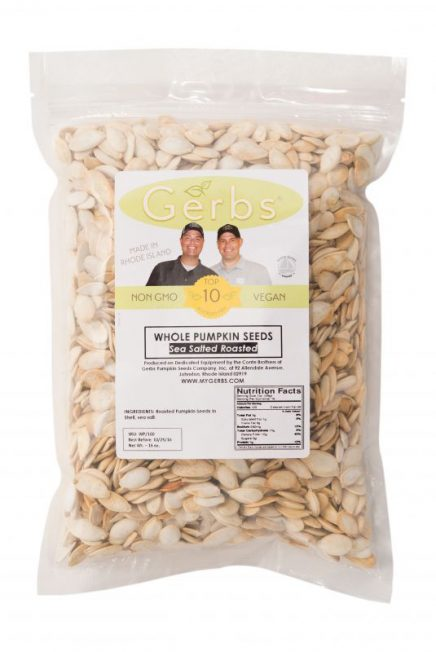 Sea Salted Dry Roasted In Shell Pumpkin Seeds - Whole Pepitas Bag