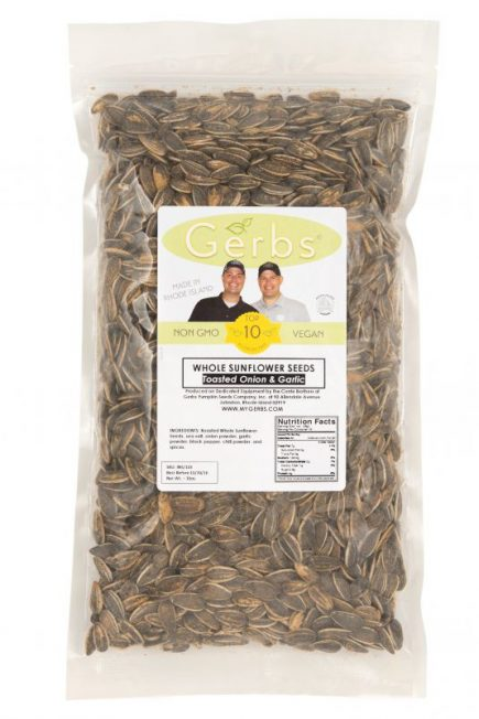 Toasted Onion & Garlic Dry Roasted Seasoned Sunflower Seeds - In Shell Whole Bag