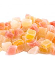 Tropical Dried Fruit Mix Diced Cubes (Mango