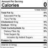 Vegatable's Friend Seasoning Mix Nutrition Facts
