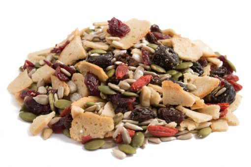Bagel Berry Crunch Snack Mix top view