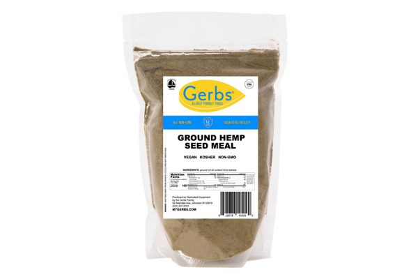 ground hemp seed meal