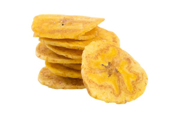 Lightly Salted Plaintains Chips Close Up