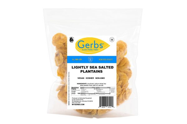 lightly sea salted plantain chips