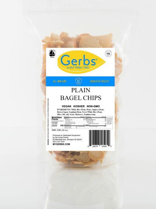plain bagel chips 1lb bag gluten free