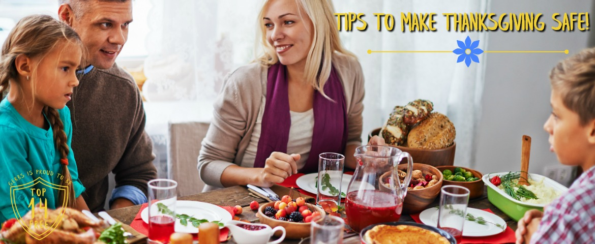tips for safe thanks giving