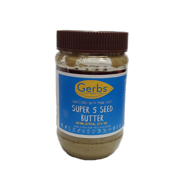 SWEETENED MONK FRUIT SUPER 5 SEED BUTTER