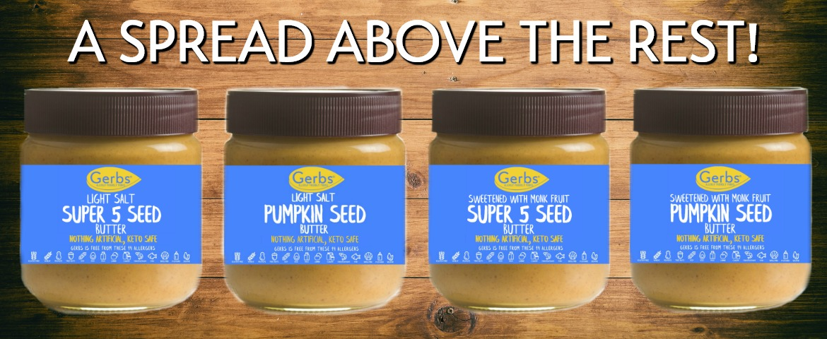 seed butters by gerbs allergy friendly foods