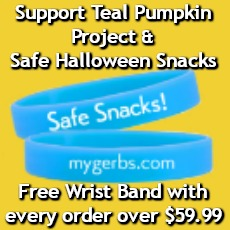 Free Wrist Band Offer By Gerbs Allergy Friendly Foods