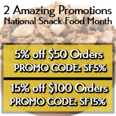 Snack Food Month Promotion By Gerbs Allergy Friendly Foods