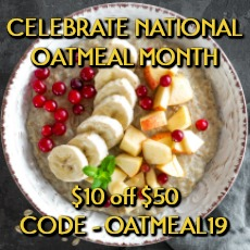 Oatmeal Month By Gerbs Allergy Friendly Foods