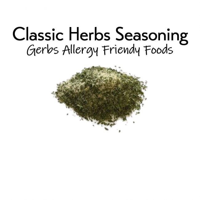 Classic Herb Seasoning 2 oz. closeup