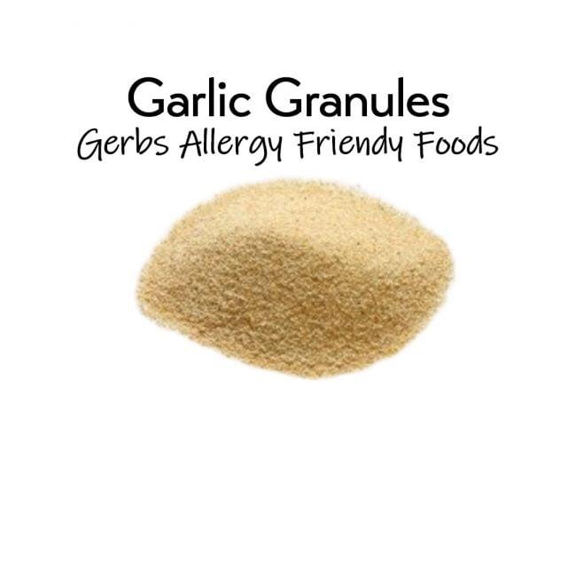 Garlic Granules 5 oz. closeup