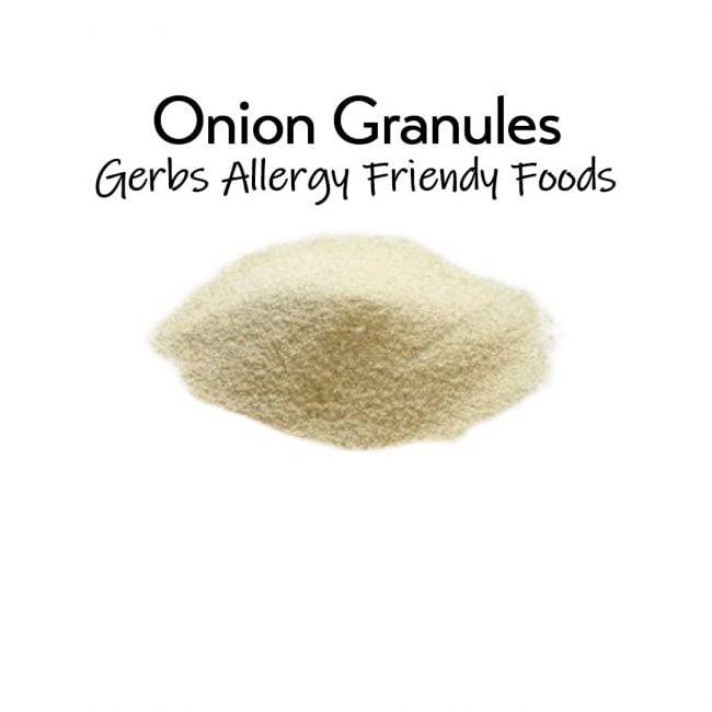 Onion Granules 4.5 oz. closeup