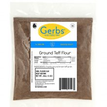 GERBS BROWN TEFF FLOUR bag