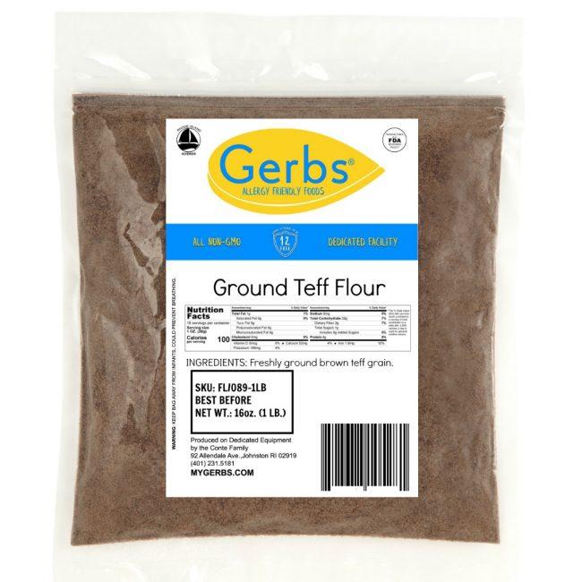 GERBS BROWN TEFF FLOUR bag