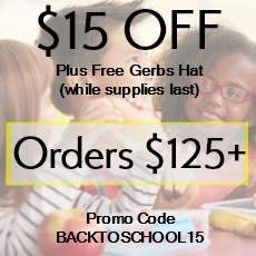 $15 off Offer By Gerbs Allergy Friendly Foods
