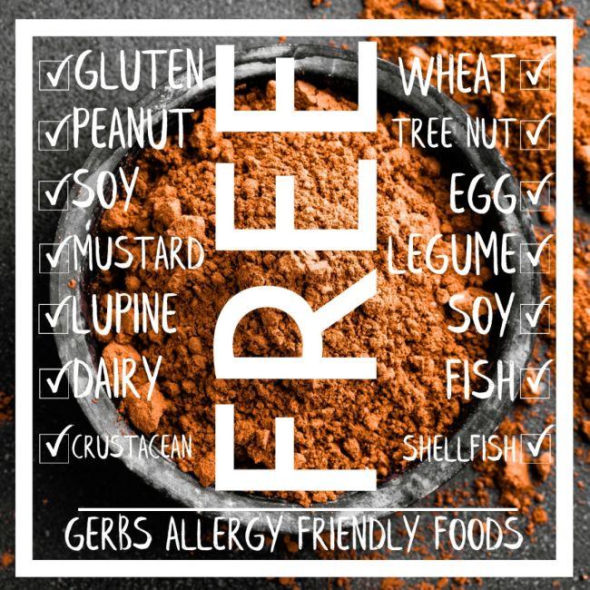 Dutch Cocoa Powder Allergy Free Information