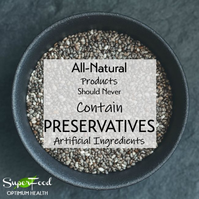 Raw Black Chia Seeds All Natural Ingredients