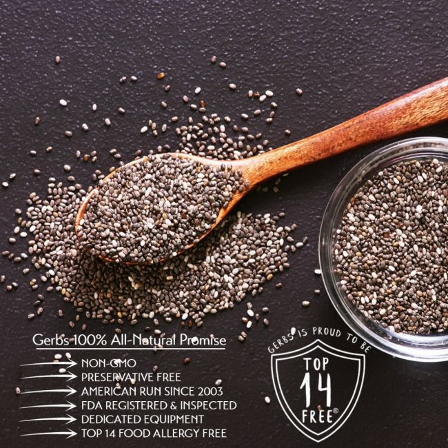 Raw Black Chia Seeds All Natural